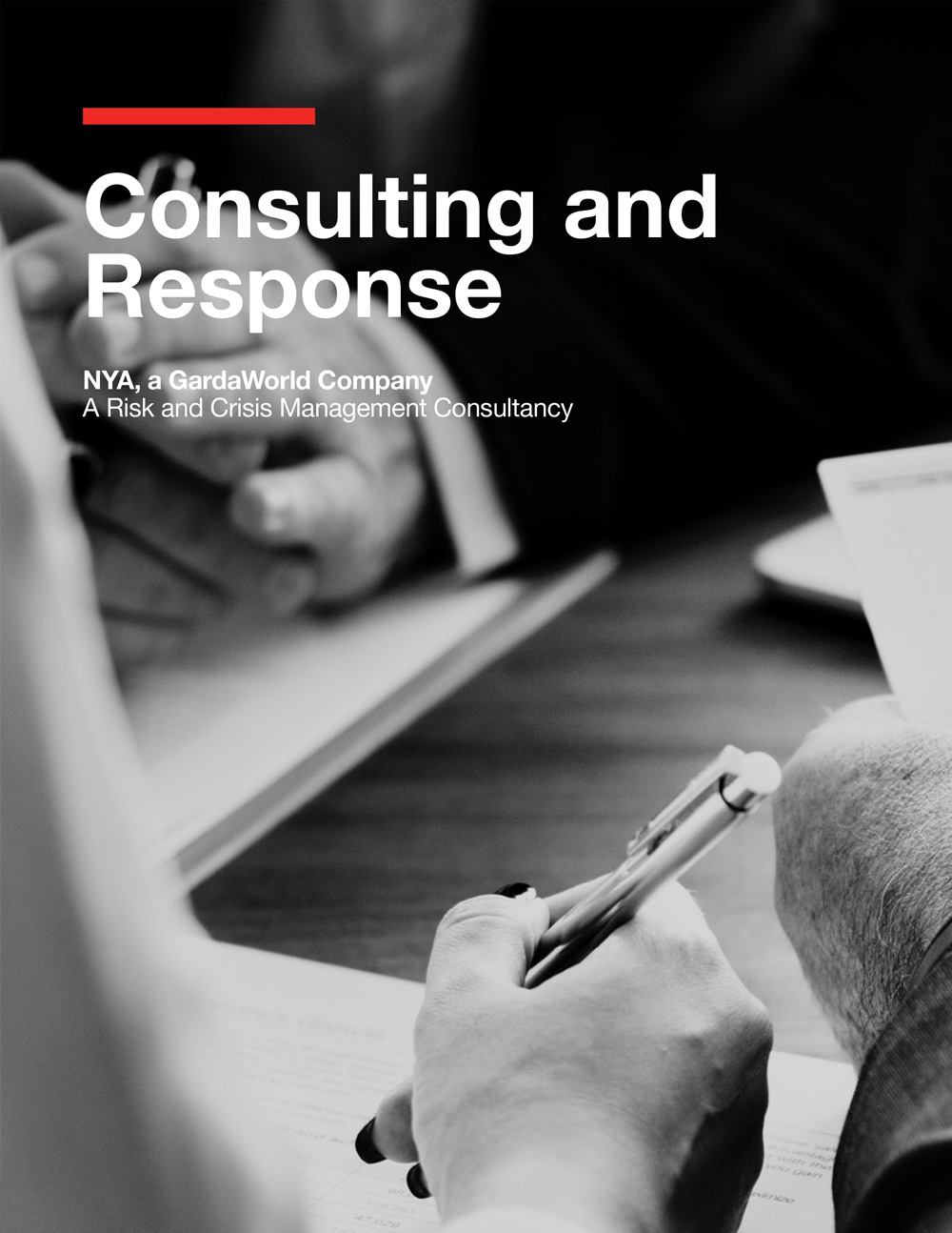 Consulting and Response Capability Sheet