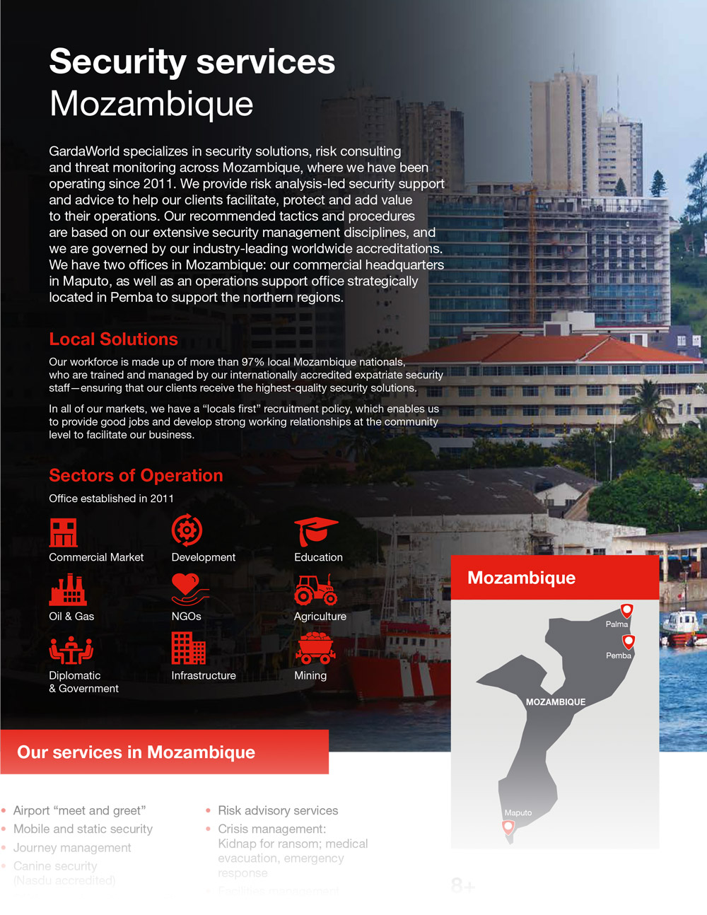 Mozambique Security Services