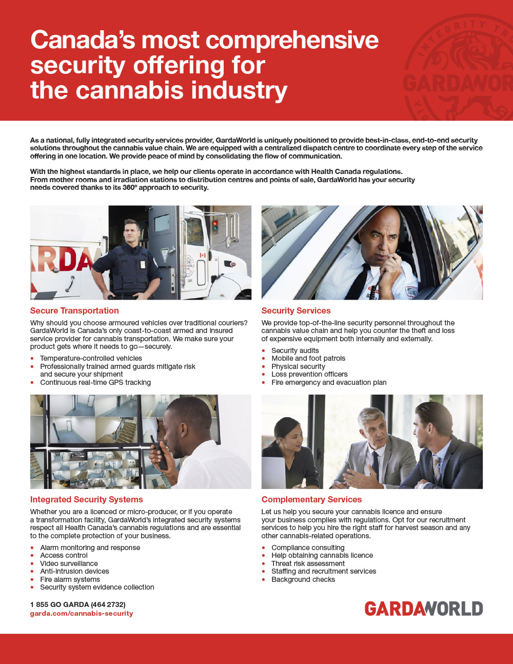 Cannabis Security Capability Sheet