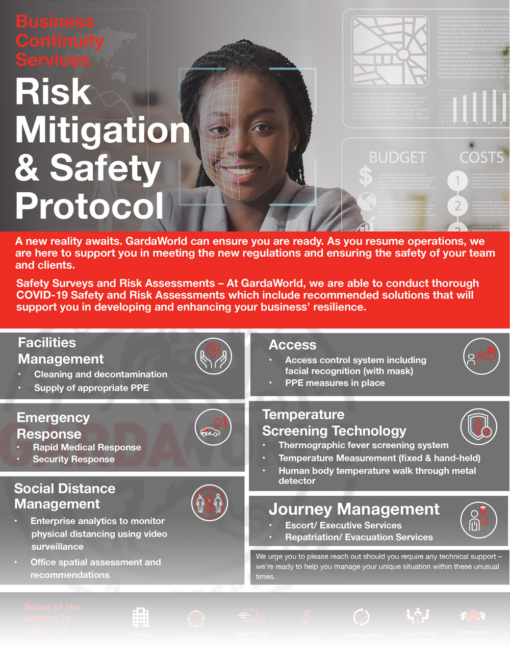 Risk Mitigation and new safety protocols