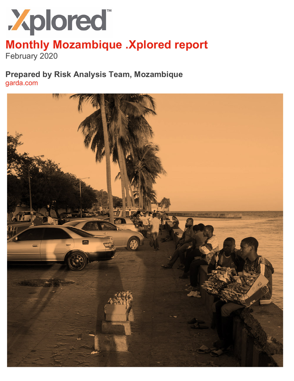 GardaWorld Monthly Mozambique .Xplored February 2020 risk report