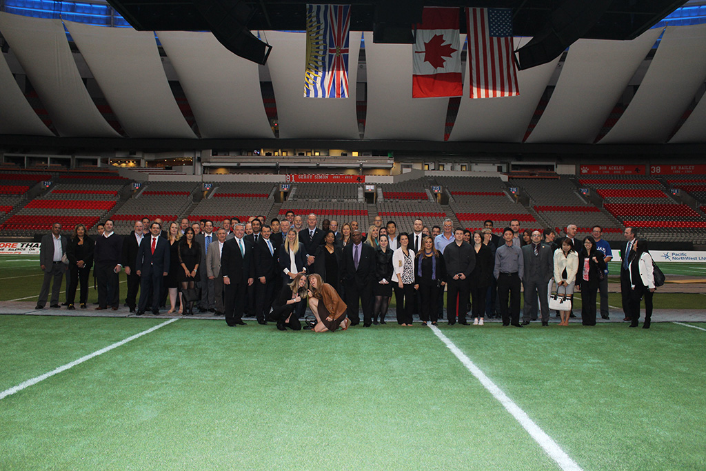 GardaWorld team at BC Place