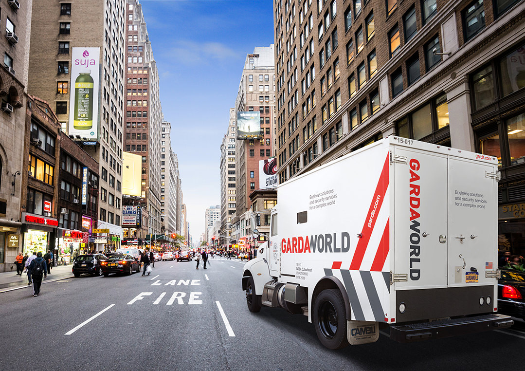 Armored Truck | GardaWorld