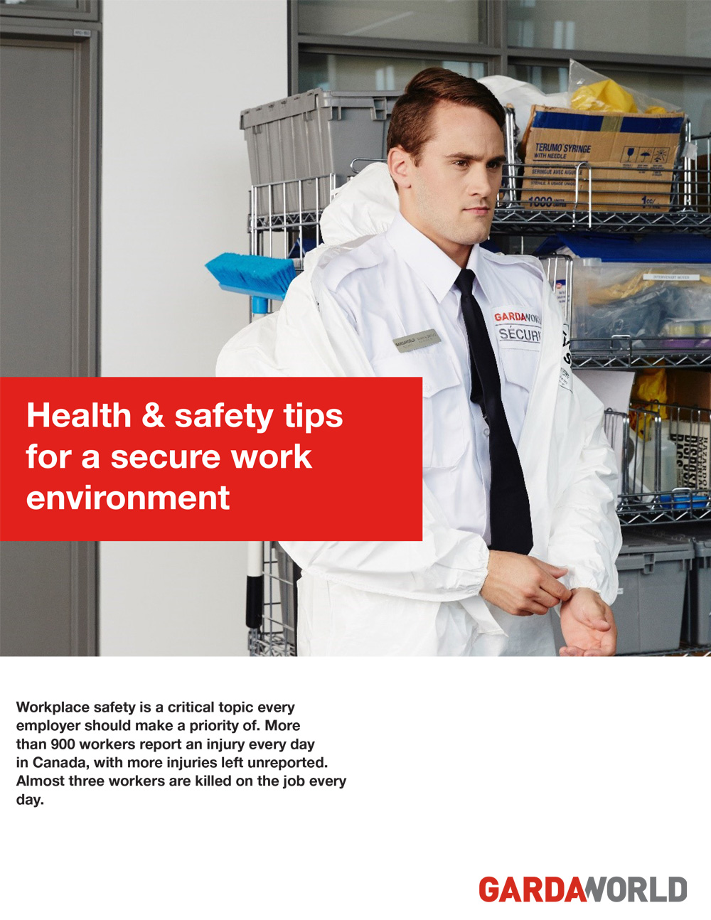 Health and safety tips for a secure work environment