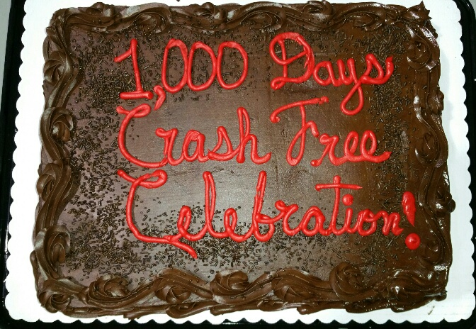 100 days crash free