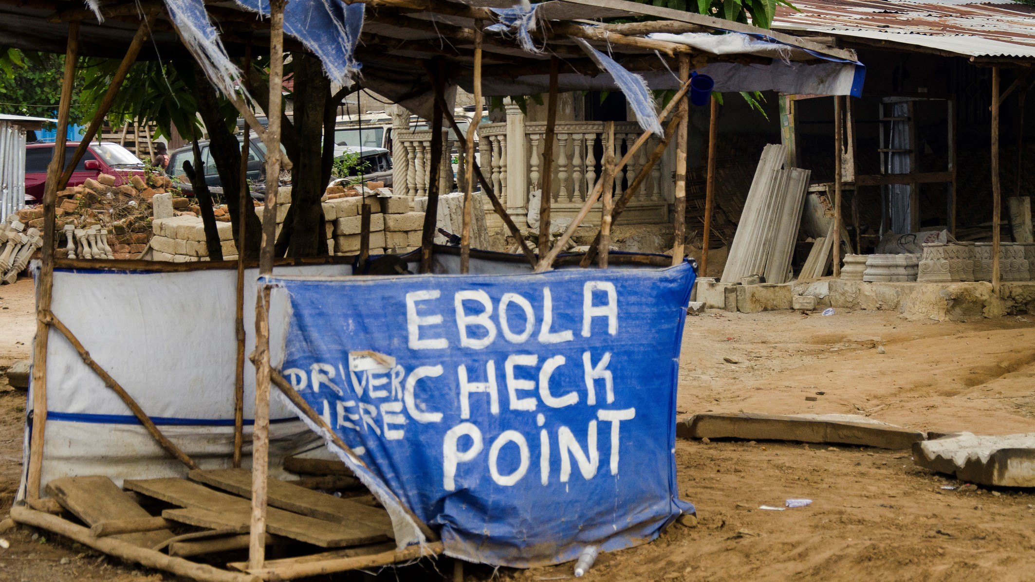 ebola checkpoint protection