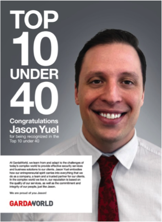 Canadian Security Magazine Top 10 under 40: Jason Yuel