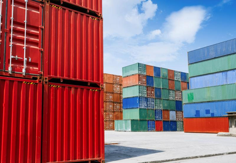 Asset tracking for containers