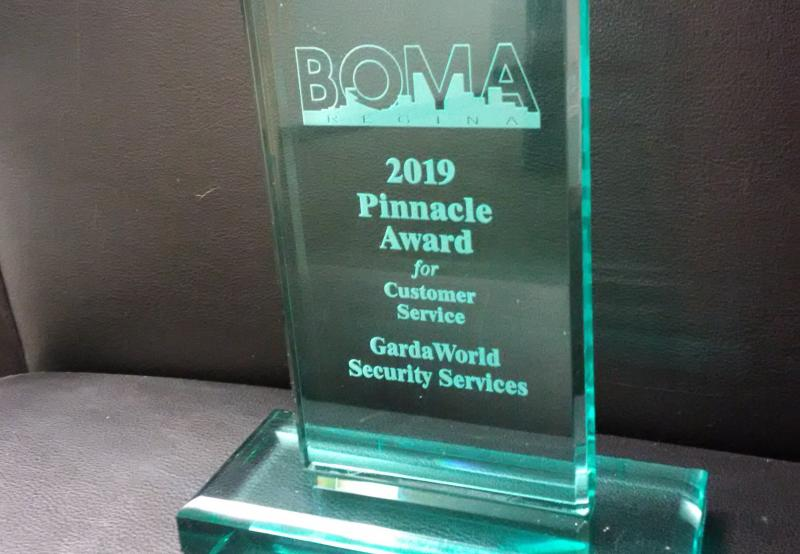 GardaWorld wins 2019 BOMA award