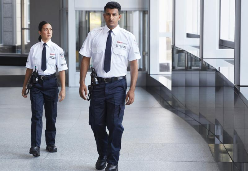 GardaWorld security guards who took on-site training courses