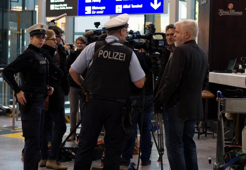 Germany security staff strike