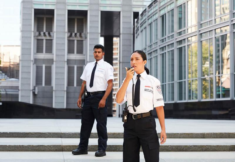 GardaWorld's physical security services include security guards