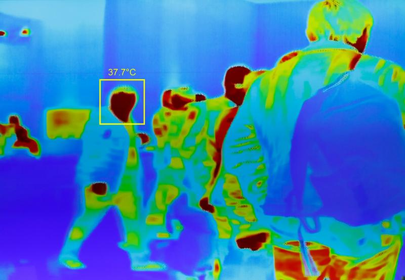 Thermal fever detection cameras