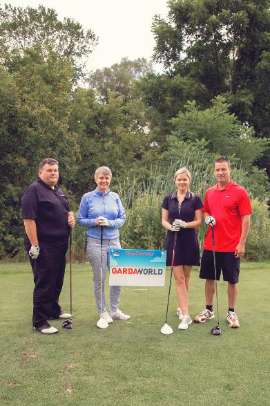GardaWorld au tournoi de golf Dreams Take Flight