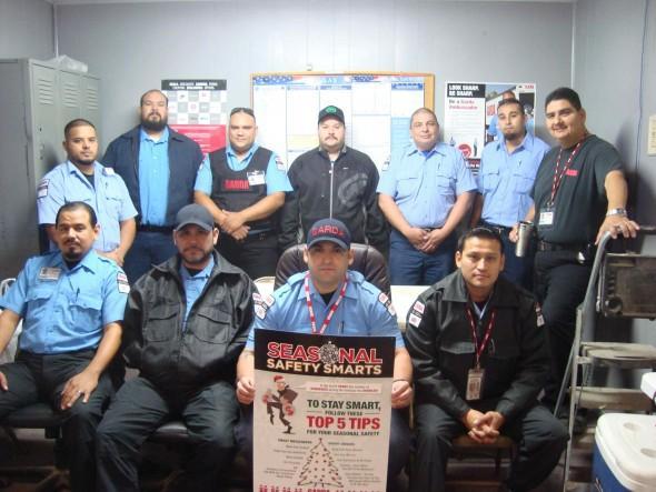 Garda Cash Logistics Employees Promote Safety  750c0be574