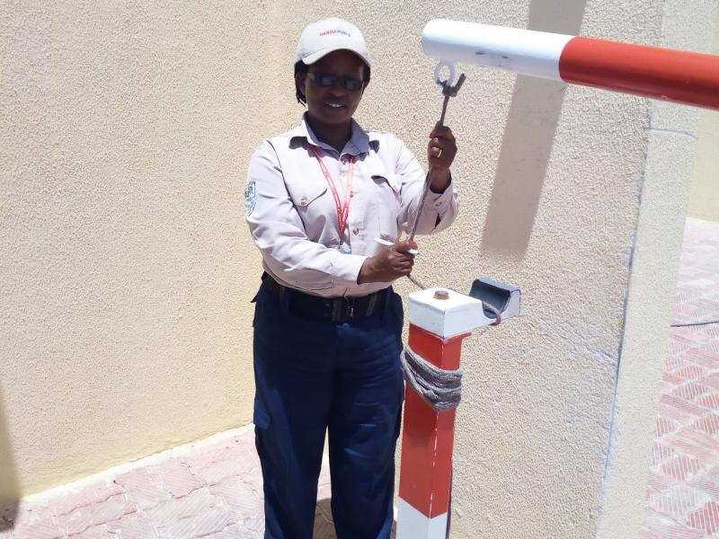A Spotlight on Rose Mukina Kyalo:  Security Guard at GardaWorld.