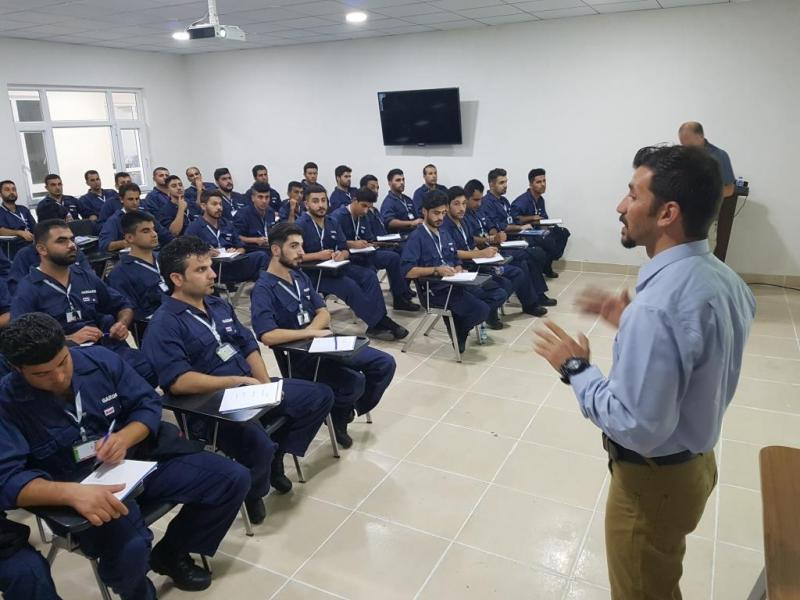Class in session: Employees training in Kurdistan
