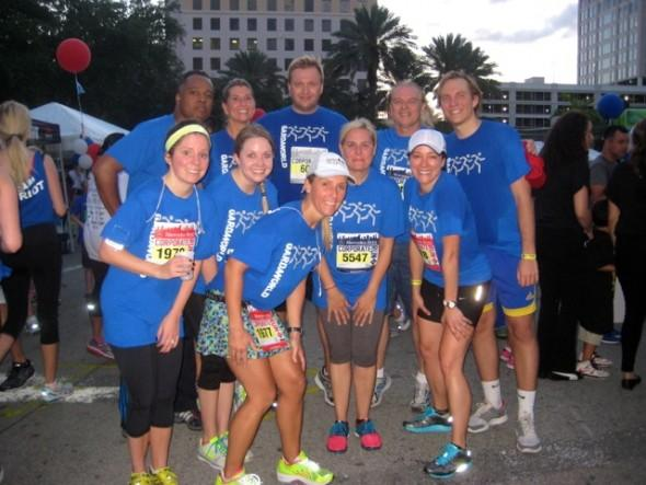 GardaWorld team races together for wellness